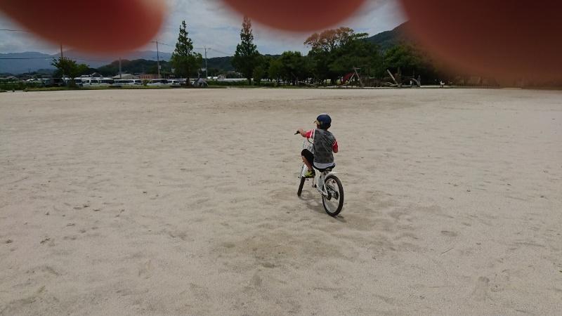 小学1年生の息子が自転車に乗れるようになったよ!(喜)